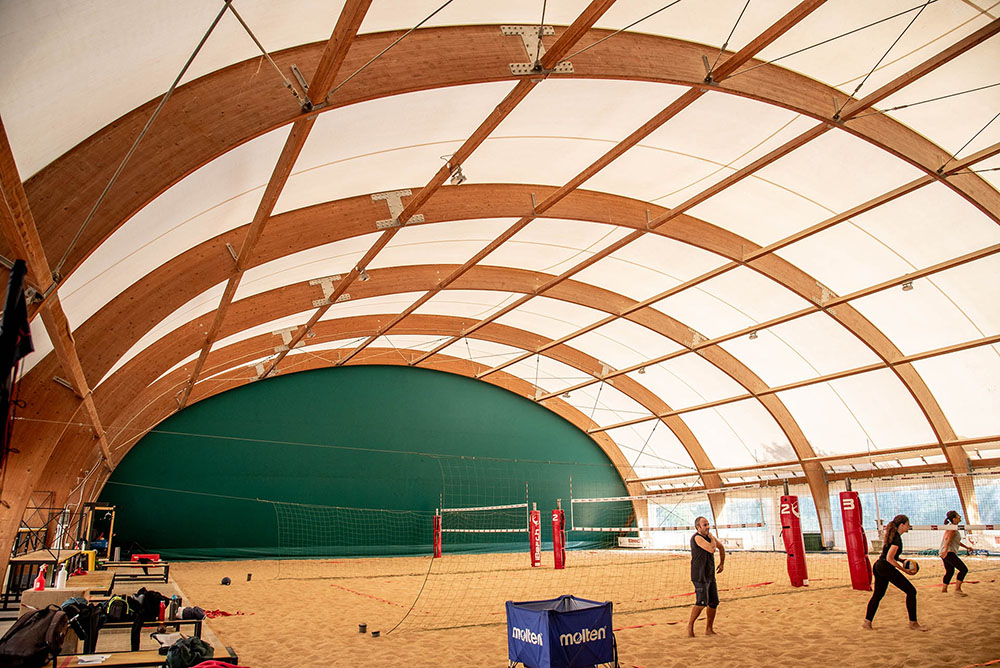 interno campi da beach volley