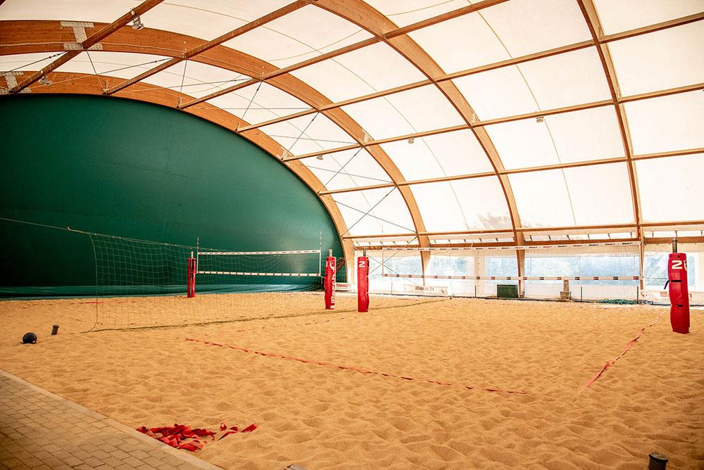 interno campo da beach volley