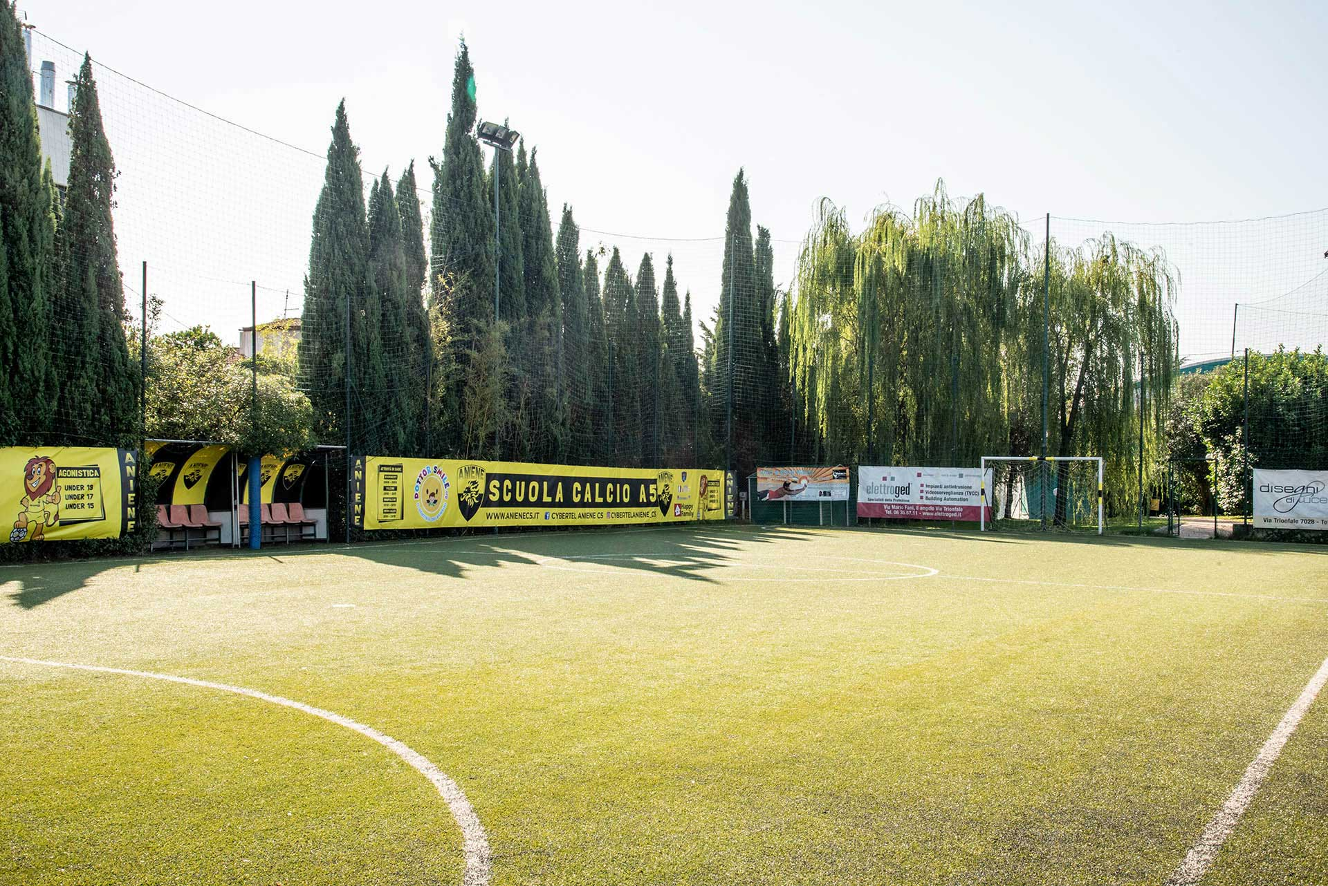 scuola calcio campo