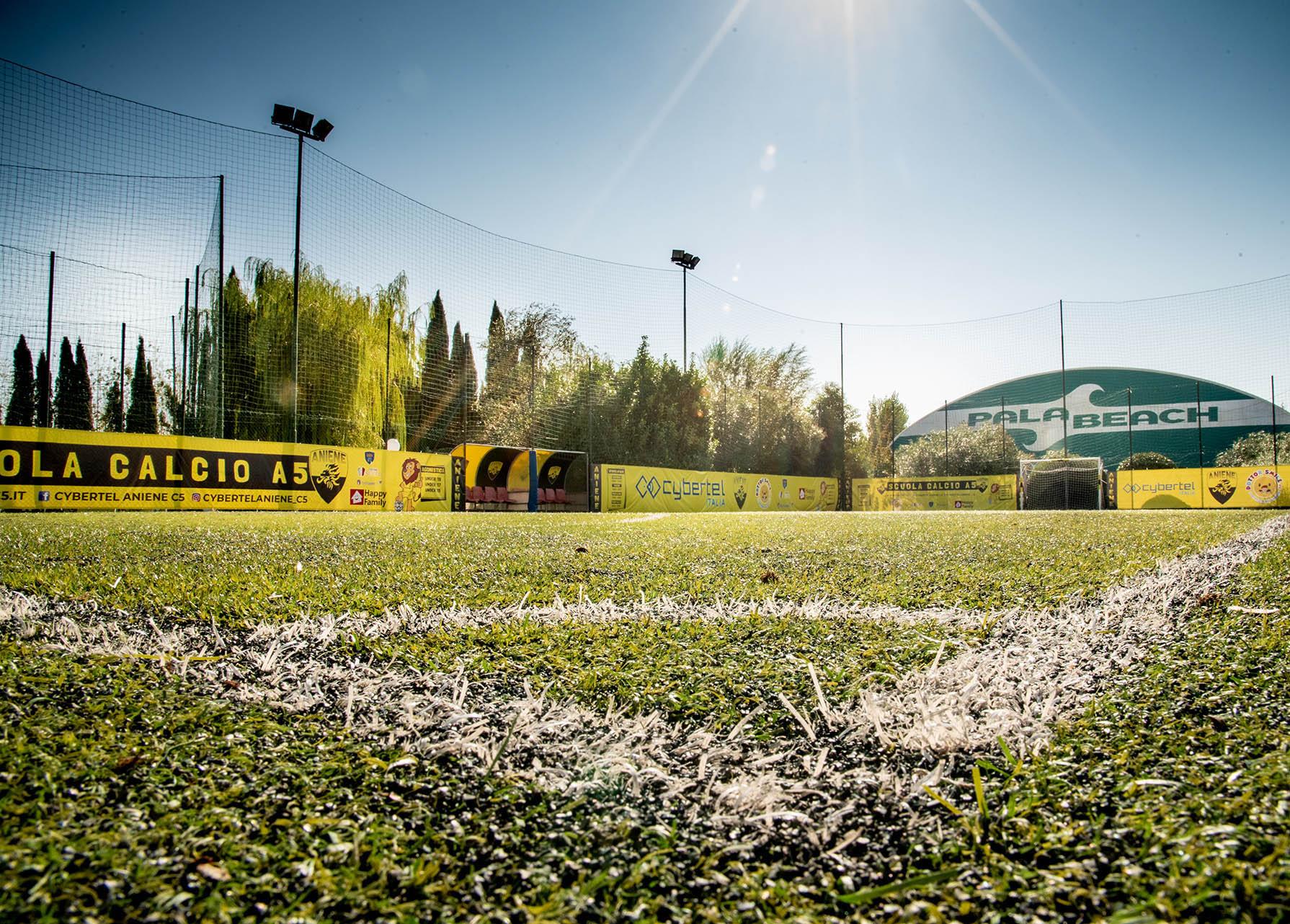 dettaglio campo di calcio